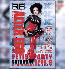 FF Alter Ego Fetish Party - April 13th