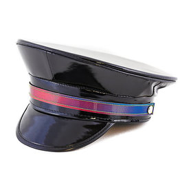 FPL Vinyl Military Hat With Rainbow Strap