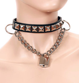 FPL Stud Choker with Hanging Chain & Square Lock