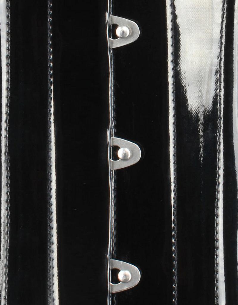 VGL Curvy PVC Waist Training Underbust Corset with C-Lock