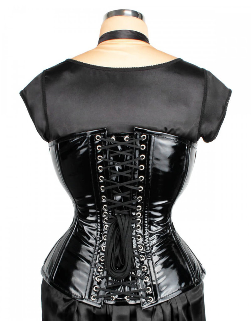 VGL Waist Training Overbust PVC  Corset with C-Lock
