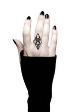 KS Isma Pentagram & Moon Ring