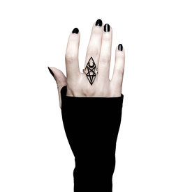 KS Isma Pentagram & Moon Ring