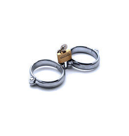 SMT Steel Hinged Handcuffs With  Lock