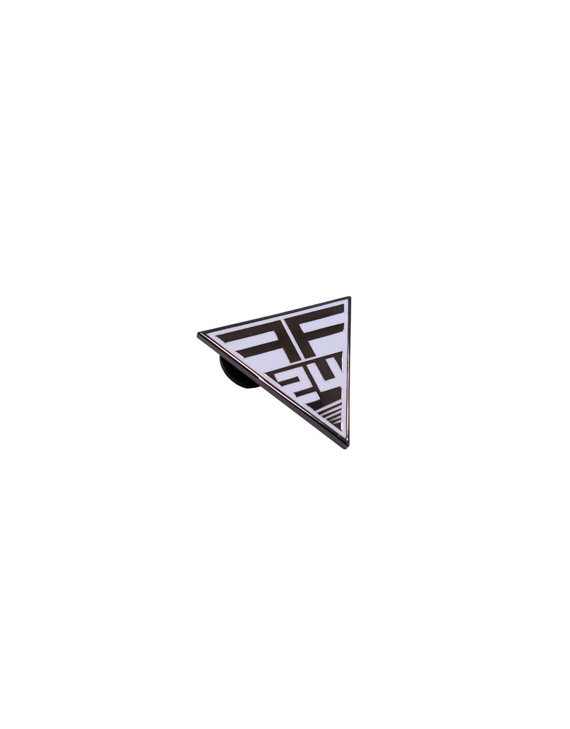 PIX Fetish Factory 24 Year Anniversary Logo Enamel Pin
