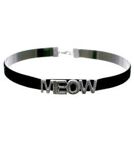 WF Velvet Meow Choker