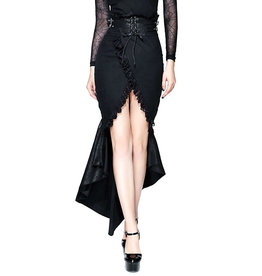 WF Gothic Fishtail Pencil Skirt with Belt
