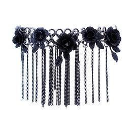 WF Metal Flower Choker