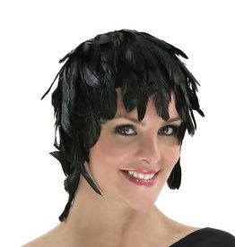 ZFP Coque Feather Wig Black Iridescent