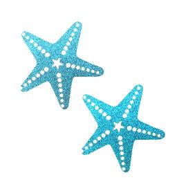 NN Bowie Blue Glitter Star Fish Nipztix