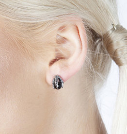 SIL Claw Studded Earrings