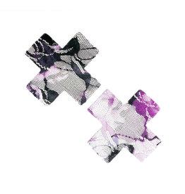 NN Maleficent Lace Purple & White X Factor Nipztix