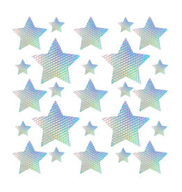 NN Mine Crafty 3D Lilac Iridescent Star Sticker Top