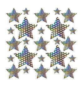 NN Mirrored Mayhem Holographic Star Sticker Top