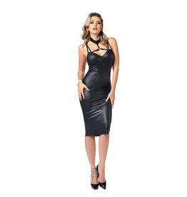 PC Petra Wetlook Low Back Midi Dress