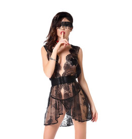 PC Karola Lace Dress with G String