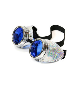 FPL Glitter Side Goggles with Colored Lenses