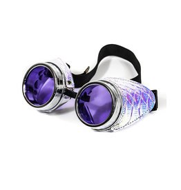FPL Iridescent Side Goggles with Purple Lenses