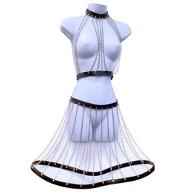 SGE Chain & PVC Top and Circle Skirt