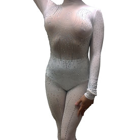 HOS Bodystocking with AB Rhinestones