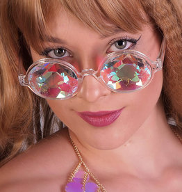 WF Kaleidoscope Glasses With Round Frame
