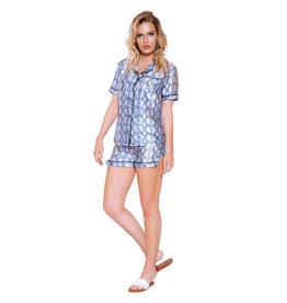 ROM Snakeskin Lounge Pajama Set