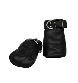 KO Leather Wrist Hoofs Black Adjustable