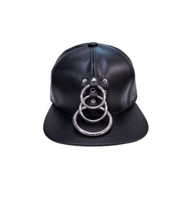 FPL Leather Cap with Triple Rings