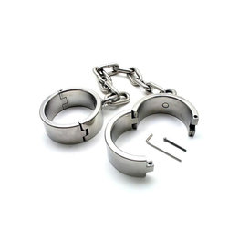 SMT Steel Hinged Ankle Shackles