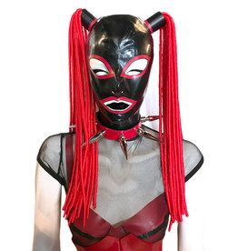 LNM Trimmed Full Face Hood with Dread Pigtails