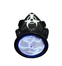 SOL Plasma Cyber Respirator with Biohazard Blue