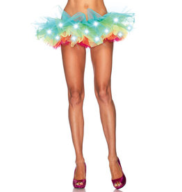LGA LED Light-Up Neon Rainbow Tutu
