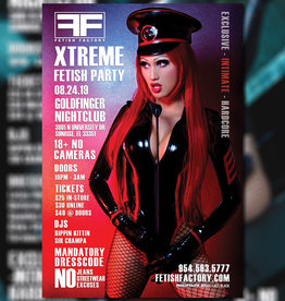 FF Xtreme Players Party  Ticket -  August 24