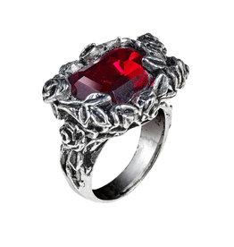 LOE Blood Rose Ring  Pewter