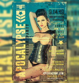 FF Apocalypse Fetish Party  Sept 14th