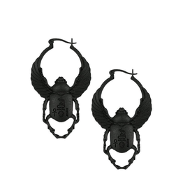 RES Scarab Earrings