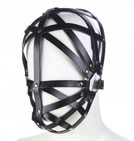 SMT Faux Leather Strappy Bondage Mask