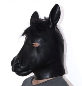 SMT Latex Horse Head Hood