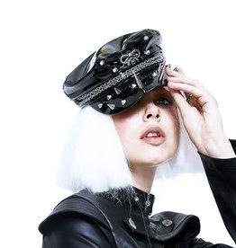 WF Gothic Studded Captain Hat