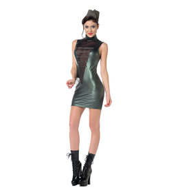 PC Uzi Wetlook & Mesh  Military Dress