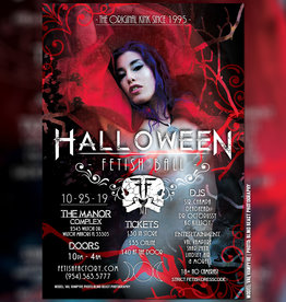 FF Halloween Fetish Ball Fetish Party Ticket Oct 25th 2019
