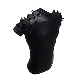 PB Rubberized PVC Top with Spiky Sleeves