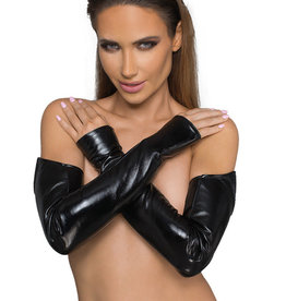 NH Power Wetlook Arm Sleeves with Pointed Top