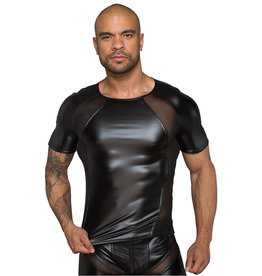 NH Mens Power Wetlook T Shirt with 3D Net Insert