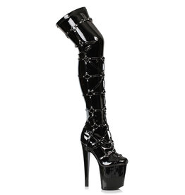 ES Metro Thigh High Boots with Rings