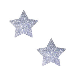 NN Silver Pixie Dust Glitter Star Bodistix 6pk
