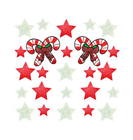 NN Peppermint Candy Cane Sticker Top