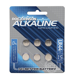 ECN DJ LR44 Batteries 6 Pack
