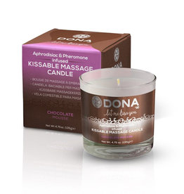 ECN Dona Aphrodisiac & Pheromone Infused Kissable Massage Candle  4.75 Ounce