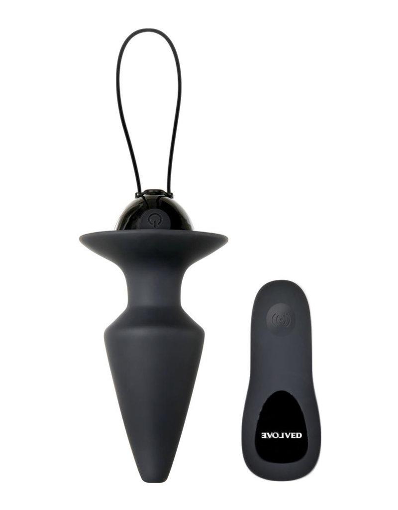Analplug ecn plug & play remote control anal plug
